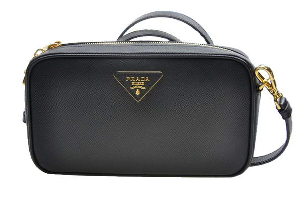 Prada Saffiano LUX Shoulder Bag BP0542 Black