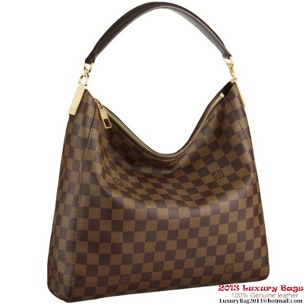 Louis Vuitton Damier Ebene Canvas Portobello PM N41184