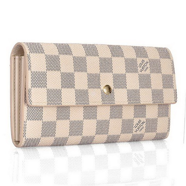 Louis Vuitton Damier Azur Canvas Sarah Wallet N61735