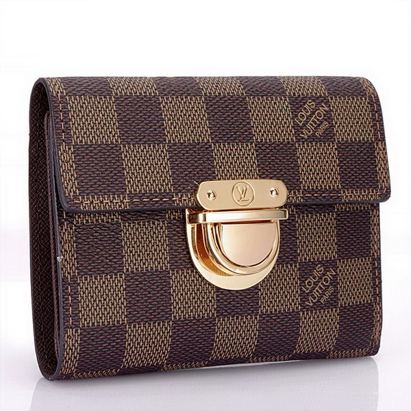 Louis Vuitton Damier Ebene Canvas Koala Wallet N60005
