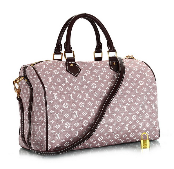 Louis Vuitton Monogram Idylle Speedy 30 with Strap M56704 Sepia
