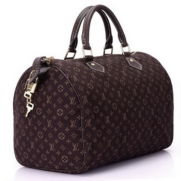 Louis Vuitton Monogram Mini Lin Speedy 30 M95224