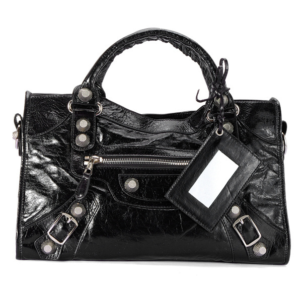 Balenciaga Giant City Bag Black