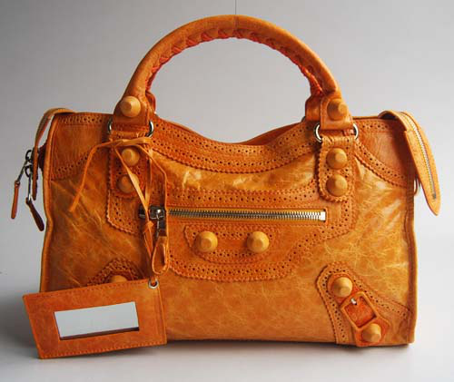 Balenciaga Giant City Bag Camel