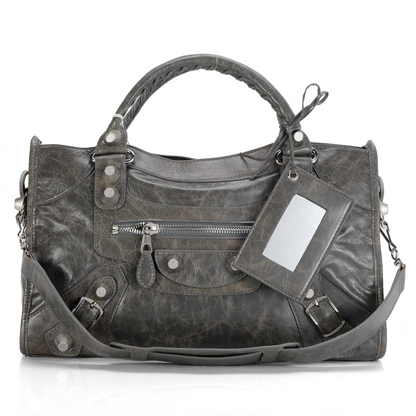 Balenciaga Giant City Handbag Dimgrey