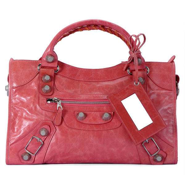 Balenciaga Giant City Handbag Pink