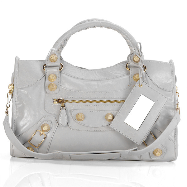 Balenciaga Giant City Handbag Silverest