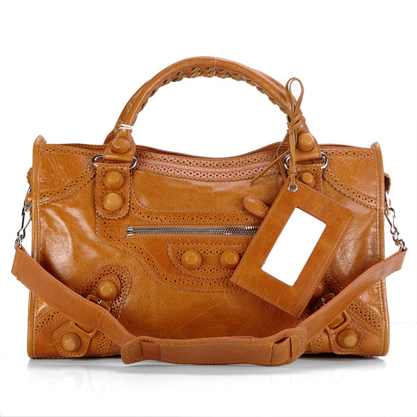 Balenciaga Giant Part Time Bag Brown