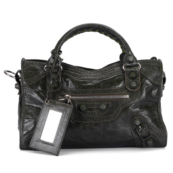 Balenciaga Giant Part Time Bag Carbon Black