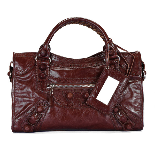Balenciaga Giant Part Time Bag Chocolate