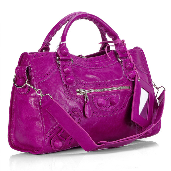 Balenciaga Giant Part Time Bag Fuchsia