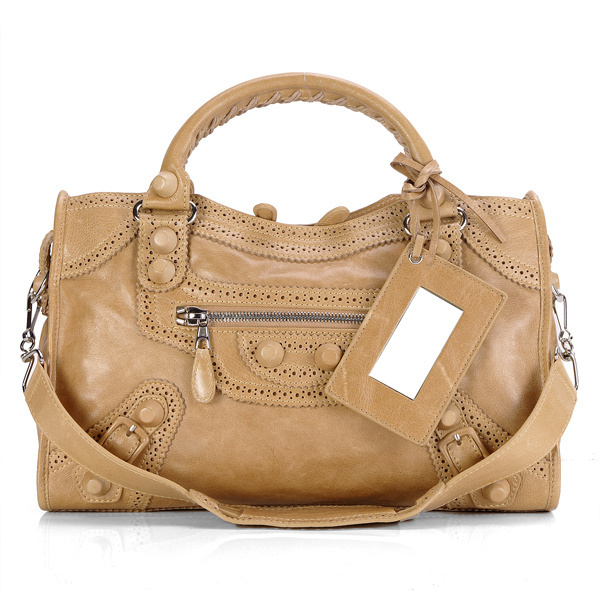 Balenciaga Giant Part Time Bag In Brown