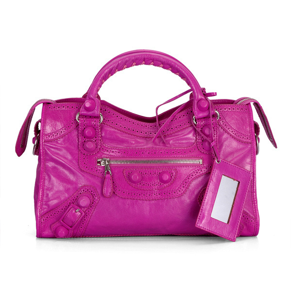 Balenciaga Giant Part Time Bag Magenta