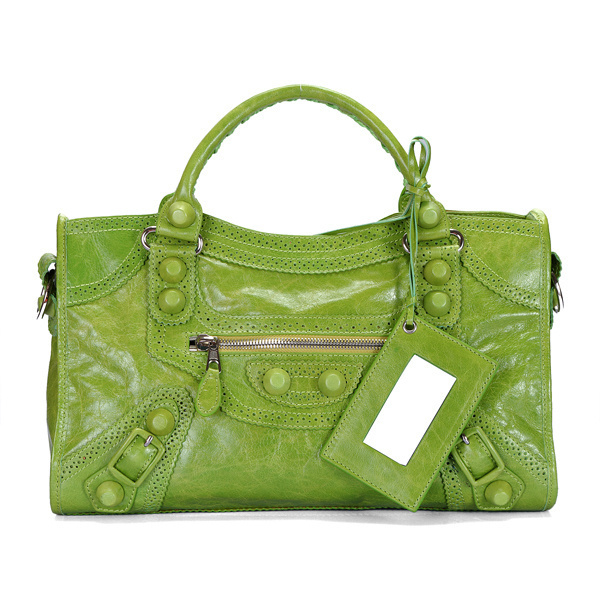 Balenciaga Giant Part Time Bag Olive