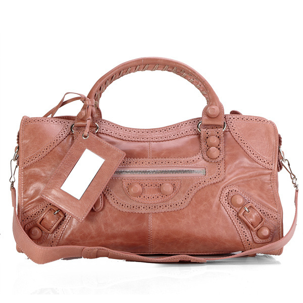 Balenciaga Giant Part Time Handbag Pink