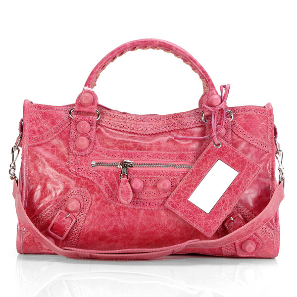 Balenciaga Giant Part Time Bag Peach Redest