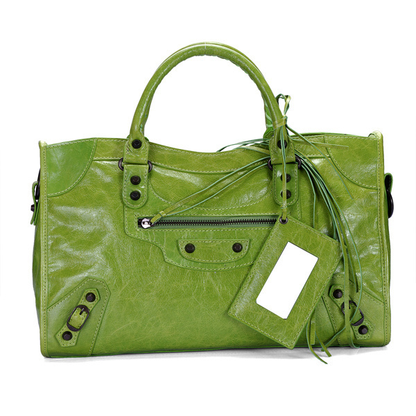 Balenciaga Part Time Handbag Green