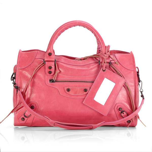Balenciaga Part Time Handbag Hotpink