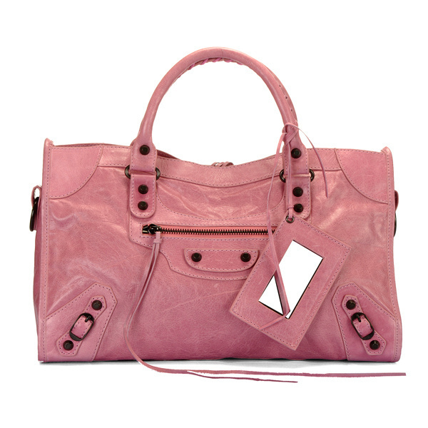 Balenciaga Part Time Handbag Light Pink