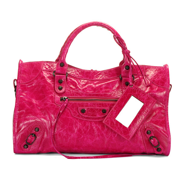 Balenciaga Part Time Handbag Red