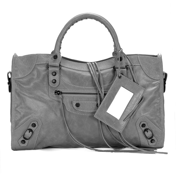Balenciaga Work Handbag Grey