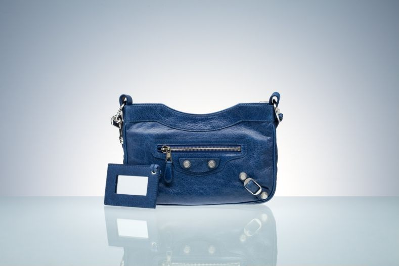 Balenciaga Shoulder Bags Blue