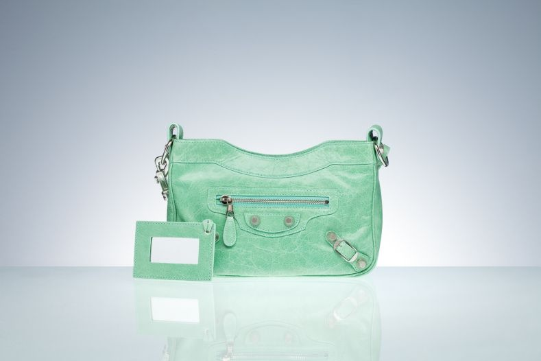 Balenciaga Shoulder Bags Green