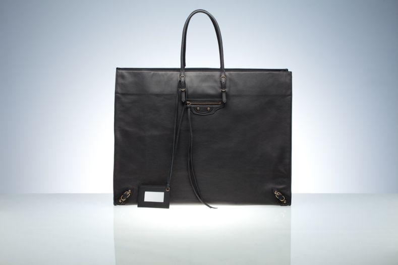 Balenciaga Tote Handbags Black