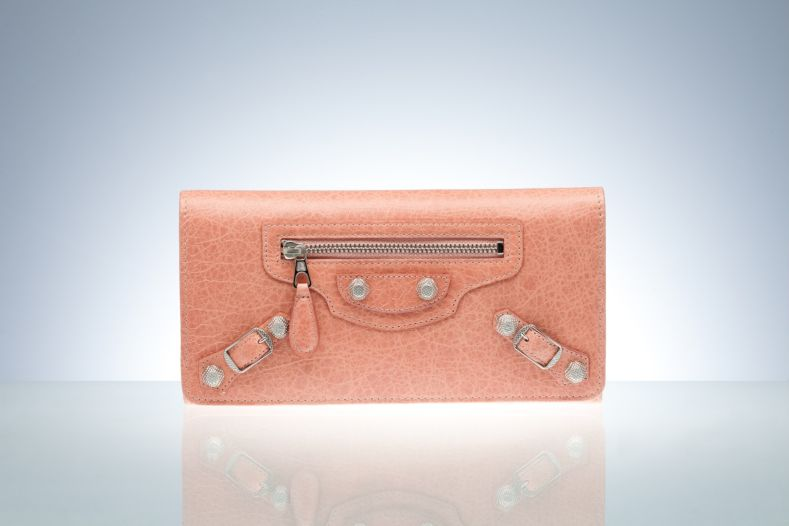 Balenciaga Wallet Deep Rose