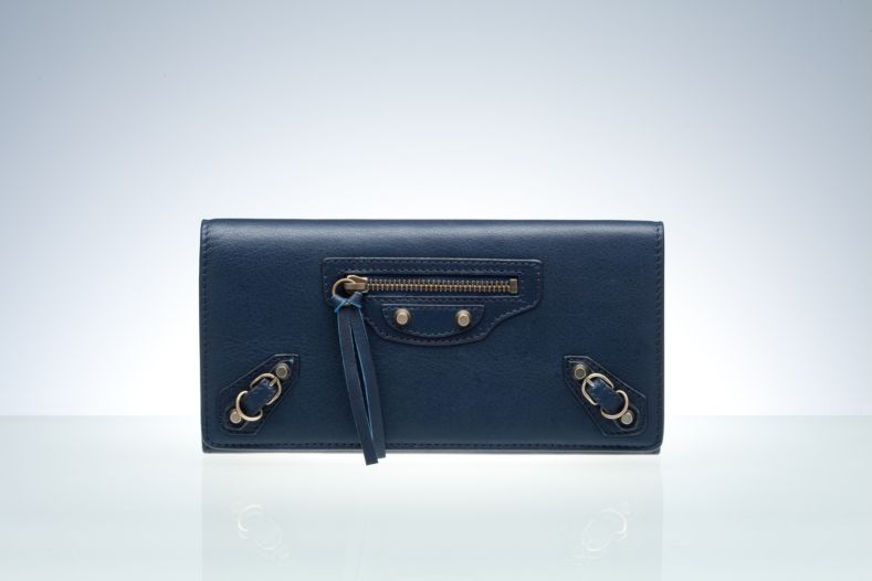 Balenciaga Wallet Blue Royal
