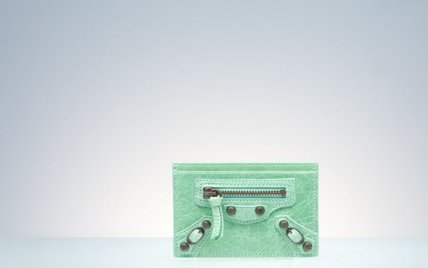 Balenciaga Wallet Green