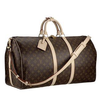 Louis Vuitton Monogram Canvas Keepall 60 Shoulder Strap M41412