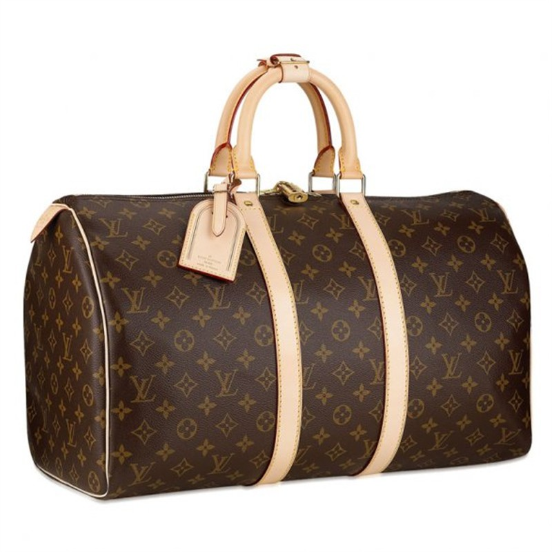 Louis Vuitton Monogram Canvas Keepall 50 M41426