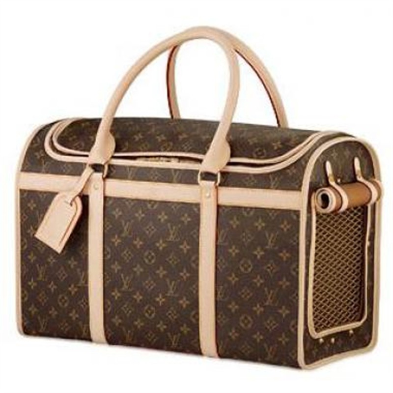Louis Vuitton Monogram Canvas Dog Bag 50 M42021