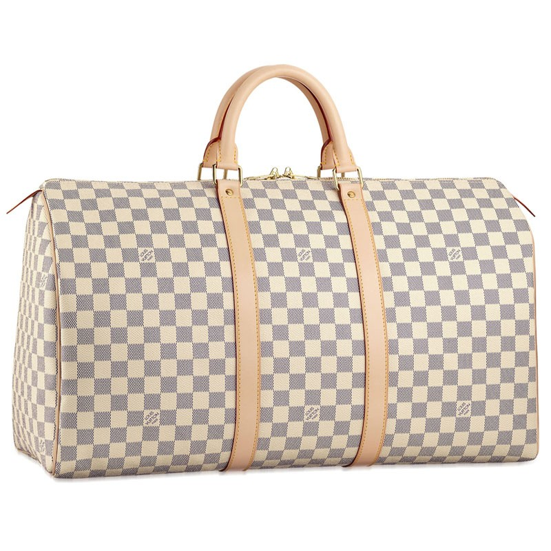 Louis Vuitton Damier Azur Canvas Keepall 50 N41430