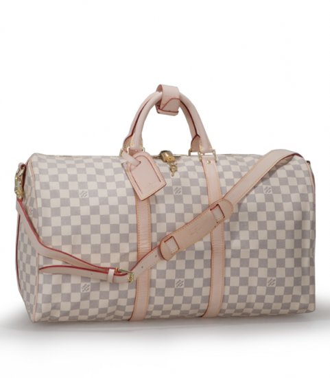 Louis Vuitton Monogram Canvas Keepall 50 With Shoulder Strap N41430
