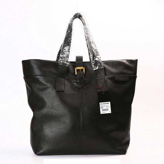 Mulberry Balthazar Tote Bag Natural Leather Black