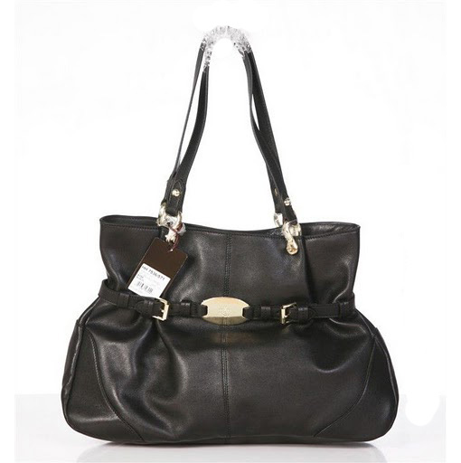 Mulberry Beatrice Tote Bag Soft Spongy Leather Black