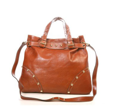 Mulberry Lizzie Tote Bag Natural Leather Oak