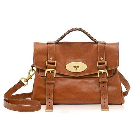 Mulberry Alexa Bag Natural Leather Oak