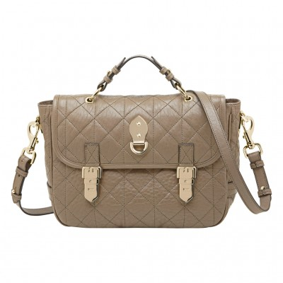 Mulberry Tillie Satchel Bag Birds Nest Quilted Nappa Oak